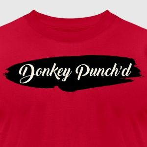 Donkey Punch'd - Men's T-Shirt by American Apparel