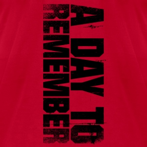 a day to remember - Men's T-Shirt by American Apparel
