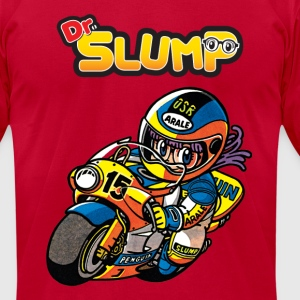 Arale The Racer - Men's T-Shirt by American Apparel