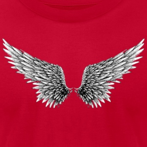 Wings up - Men's T-Shirt by American Apparel