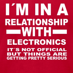 relationship with ELECTRONICS - Men's T-Shirt by American Apparel