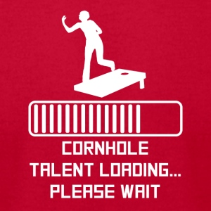 Cornhole Talent Loading - Men's T-Shirt by American Apparel