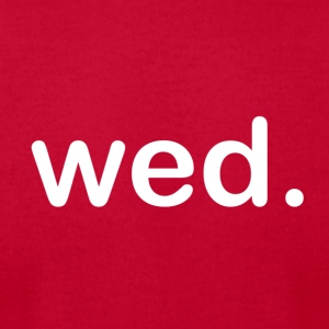 Wednesday - Men's T-Shirt by American Apparel