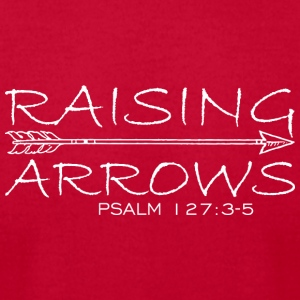 Raising Arrow - Men's T-Shirt by American Apparel