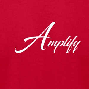 Amplify - Men's T-Shirt by American Apparel