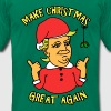 A Donald Trump Christmas - Men's Fine Jersey T-Shirt