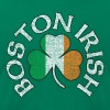 Boston Irish Shamrock Flag Clothing  - Men's Fine Jersey T-Shirt