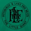 Pittsburgh & Lake Erie Railroad Co. - Men's Fine Jersey T-Shirt