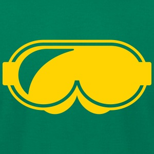 snowboard ski goggles - Men's T-Shirt by American Apparel