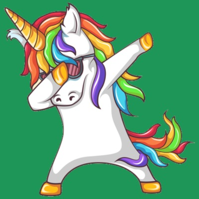 Dabbing Unicorn 2
