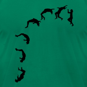 Cliff Jumper - Men's T-Shirt by American Apparel