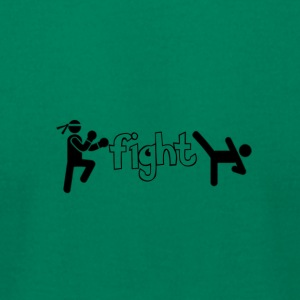 Fight - Men's T-Shirt by American Apparel