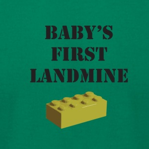 baby landmine - Men's T-Shirt by American Apparel