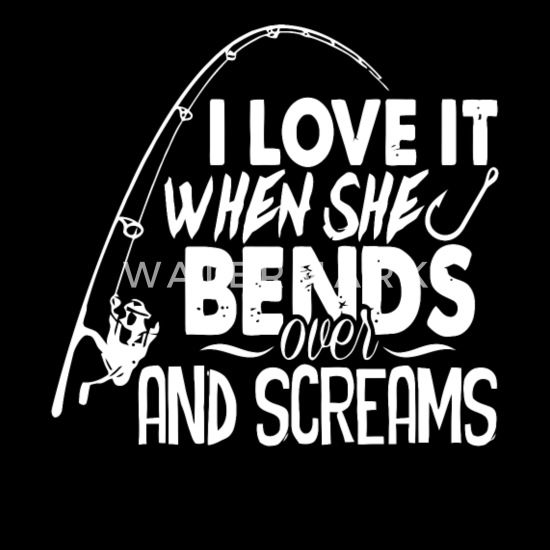 I Love It When She Bends Over And Screams Men S Zip Hoodie Spreadshirt