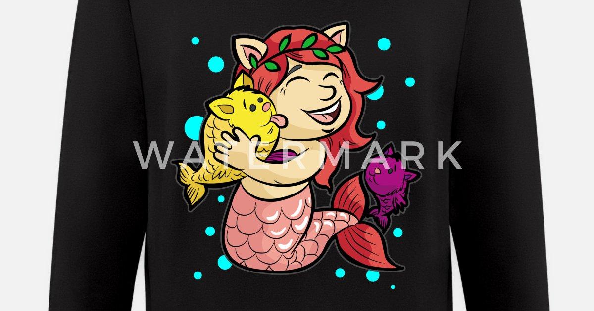 79bdc7eac MERMAID KITTIES Cat Cats Water Under the Sea Gift Men's Zip Hoodie |  Spreadshirt