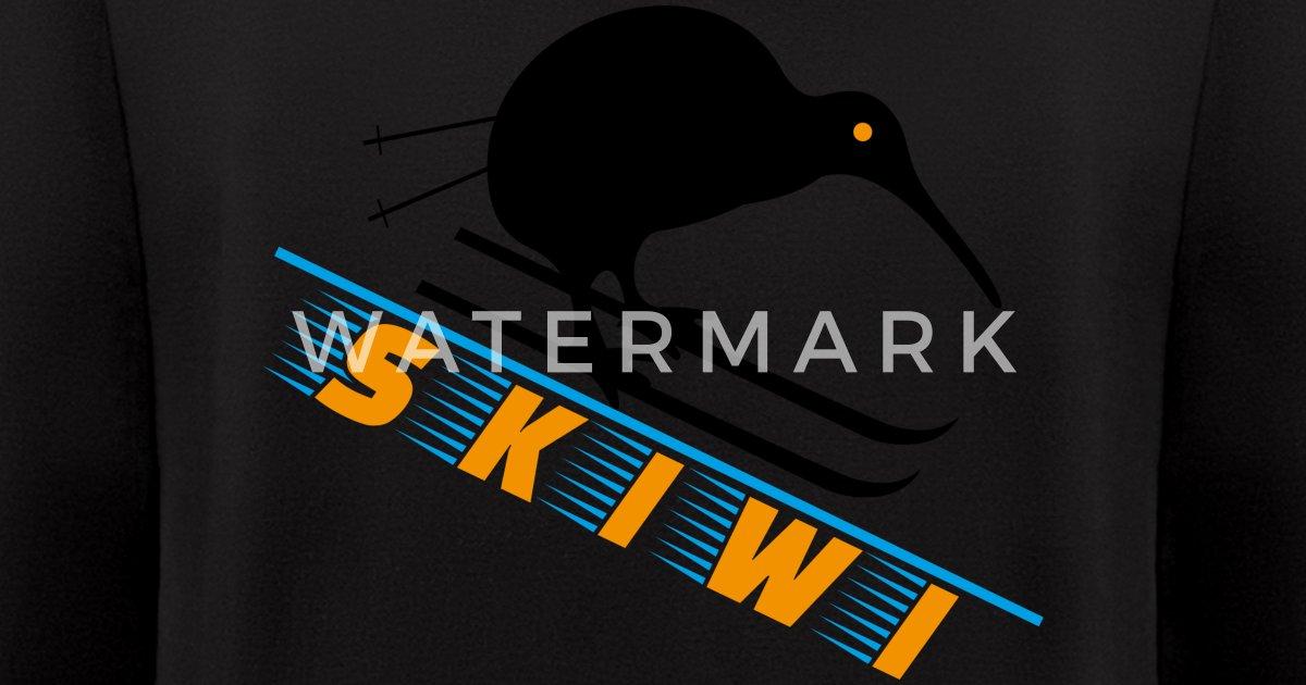 Kiwi Nz New Zealand Dark Skiwi Gift Men S Zip Hoodie