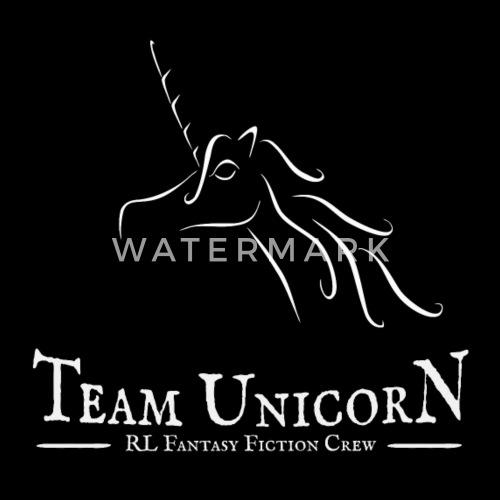 Team Unicorn Real Life Fantasy Fiction Crew Gift Men's Zip Hoodie - black