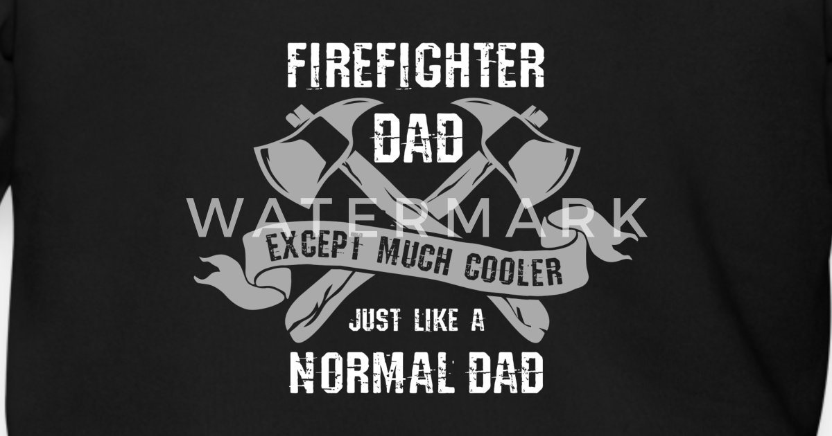 6ed47c29 Firefighter Dad. - Gift Men's Zip Hoodie | Spreadshirt