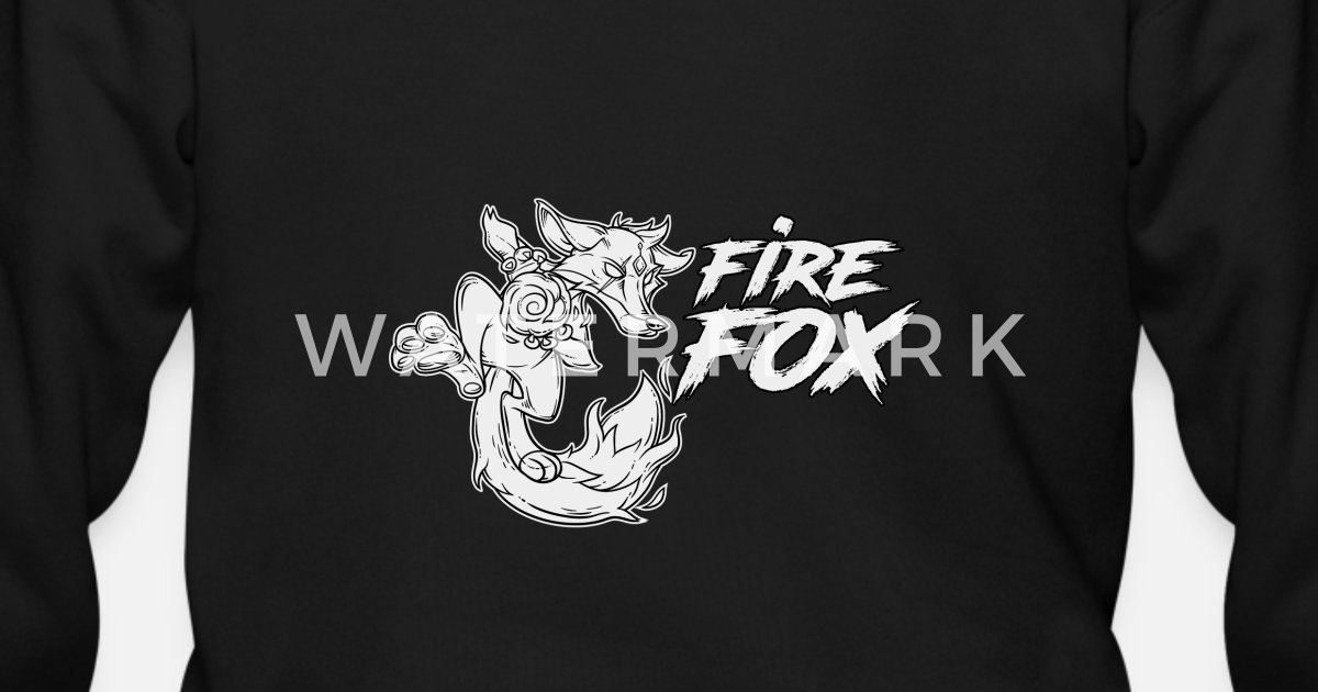 A real firefox whose element is fire Men's Zip Hoodie | Spreadshirt
