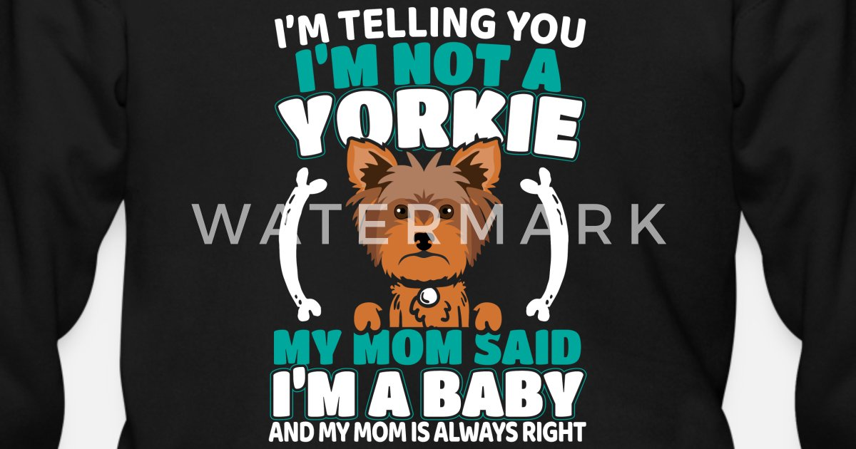 e997035d Yorkie Yorkshire Terrier Dog Doggie Gift Men's Zip Hoodie | Spreadshirt