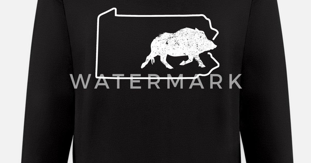d2f4d3b4aa6dd Ferral Hog Hunting Pennsylvania Wild Boar Hunter Men's Zip Hoodie |  Spreadshirt