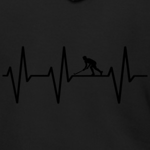 My heart beats for hokey! gift - Men's Zip Hoodie