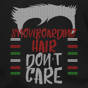 Ugly sweater christmas gift for snowboarding - Men's Zip Hoodie