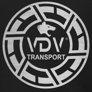 VDV Transport Logo Design - Men's Zip Hoodie