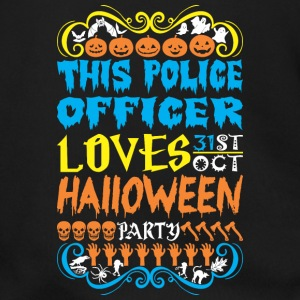 This Police Officer Loves 31st Oct Halloween Party - Men's Zip Hoodie