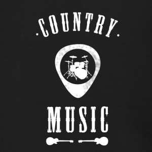 country Music band drums Guitar plectron Rock jazz - Men's Zip Hoodie