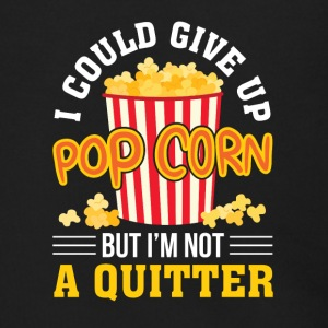 I Could Give Up Popcorn But Not Quitter - Men's Zip Hoodie