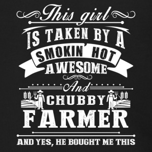 This Girl Is Taken By A Smokin Hot Awesome Farmer - Men's Zip Hoodie