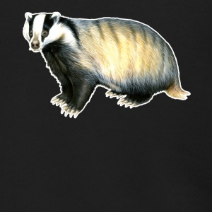Badger Tee Shirt - Men's Zip Hoodie