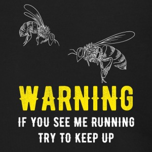 Beekeeper If you see me running try to keep up - Men's Zip Hoodie