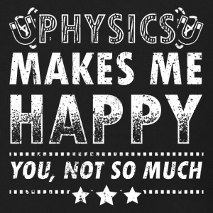 Funny Physics Physicist Shirt Makes Me Happy - Men's Zip Hoodie