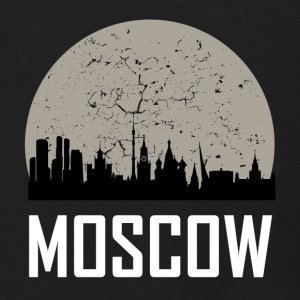 Moscow Full Moon Skyline - Men's Zip Hoodie