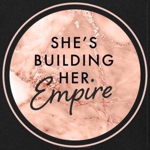 She's Building Her Empire - Men's Zip Hoodie
