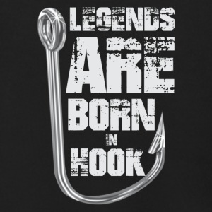 Legends Are Born in HOOK - Men's Zip Hoodie