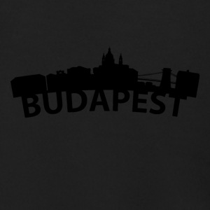 Arc Skyline Of Budapest Hungary - Men's Zip Hoodie