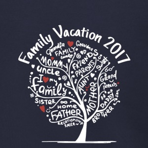 family vacation 2017 - Men's Zip Hoodie