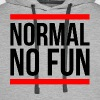 NORMAL NO FUN - Men's Premium Hoodie