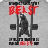 Bodybuilding - Everybody Wants To Be A Beast - Men's Premium Hoodie