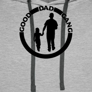 Good Dad Gang T shirts - Men's Premium Hoodie
