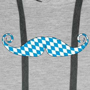 Bavaria Beard - Oktoberfest - Germany - 02 - Men's Premium Hoodie