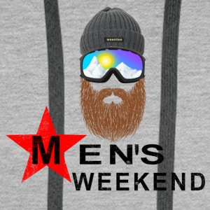 Mens Weekend - Men's Premium Hoodie