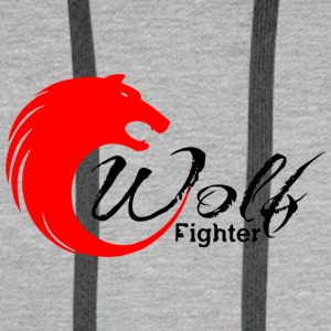 Wolf fighter - Men's Premium Hoodie