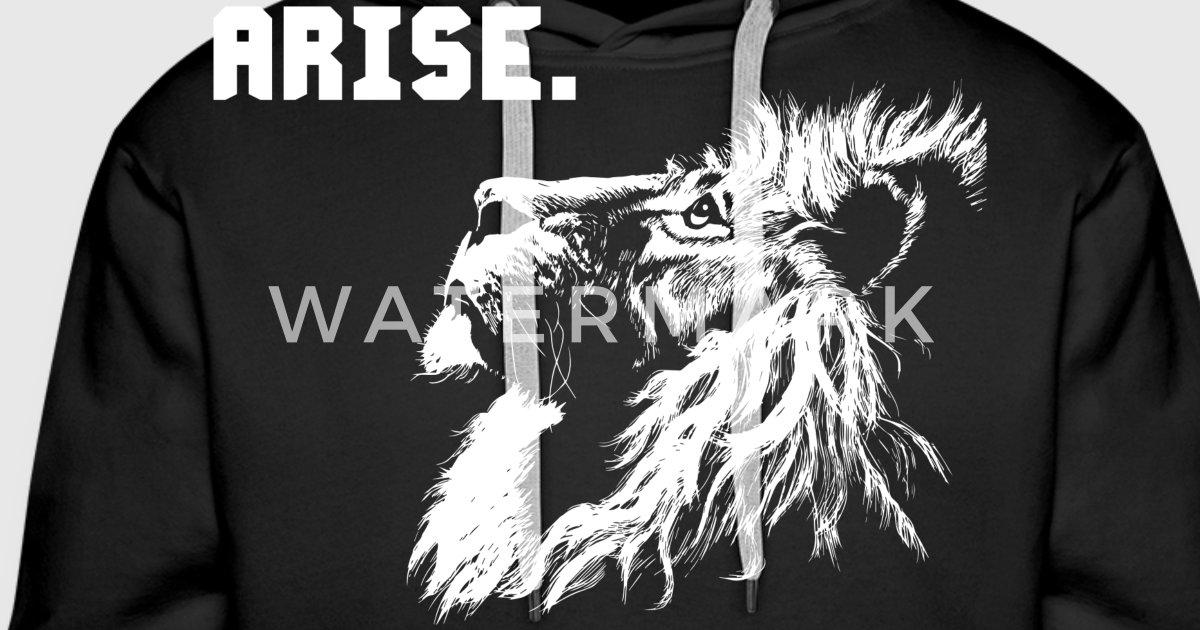 ARISE - Lion Motivation by OolongTee | Spreadshirt