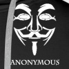 Anonymous-white.png - Men's Premium Hoodie
