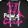 PAWS FOR A CAUSE shirt - Men's Premium Hoodie