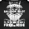 Hot Air Balloon Shirt - Men's Premium Hoodie
